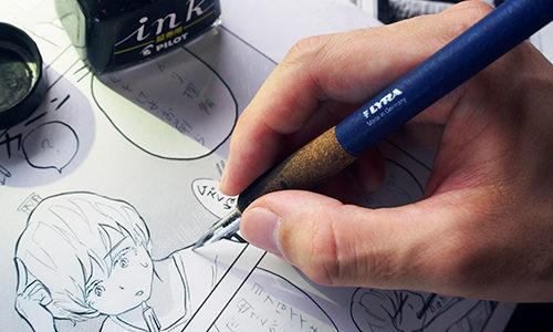 「建築漫画家」として活動し、アートとして楽しめる漫画